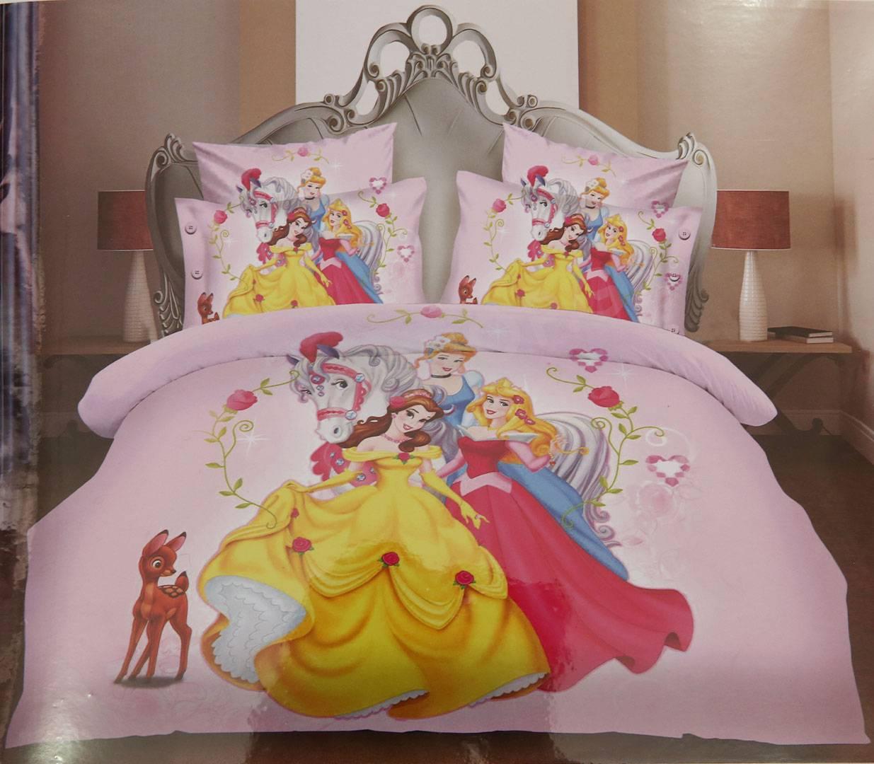 საბავშვო თეთრეული Disney Princess ერთსაწოლიანი 30035 ...